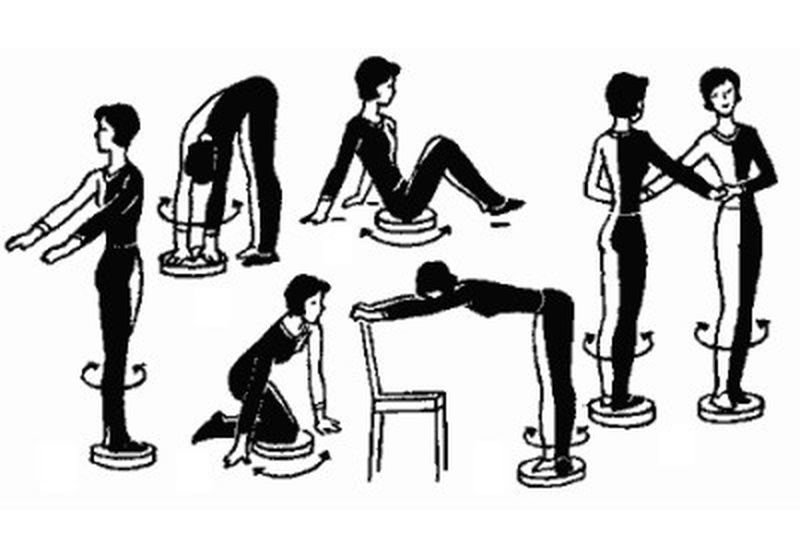 Твистер для гимнастиических упражнений